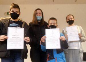 Dodijeljeni certifikati polaznicima njemačkog kursa za djecu
