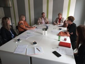 """Read more about the article Business Center Jajce / The first meeting of the working group """"Women's Entrepreneurship Advocacy Activities"""" was held"""
