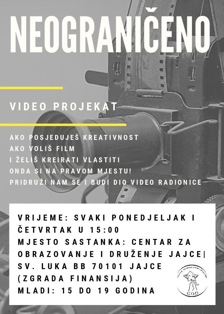 You are currently viewing COD Jajce/Video radionica za mlade od 15 do 19 godina